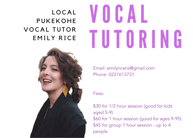 Vocal Tutoring (2)